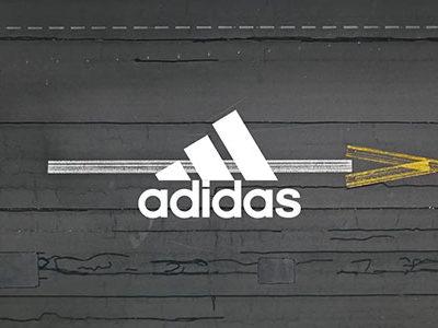adidas typographics